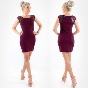 Express Fitted Mini Dress
